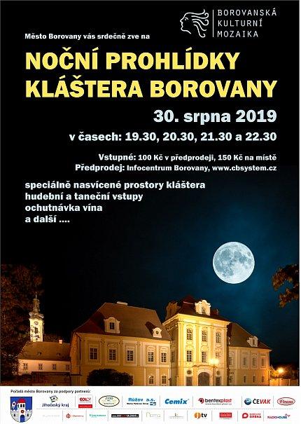 Noční prohlídky kláštera