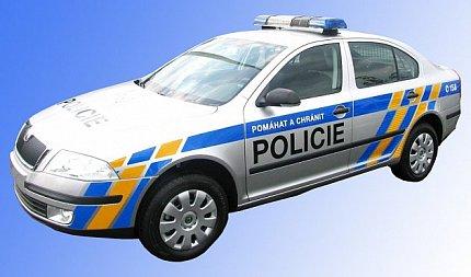 Výstava policejní vozy světa